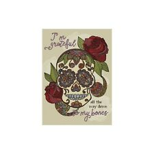 Grateful Bones Thank You Greeting Card & Envelope by Tree Free