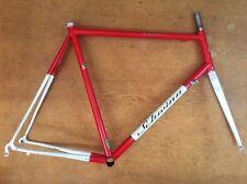 Schwinn Peloton Pro Reynolds 853 60cm Frame & Fork Road Bike Frameset Red White