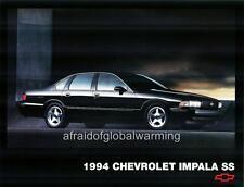 Old Photo.  1994 Chevrolet Impala SS - Black