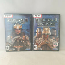 PC DVD-Rom - Medieval II Total War + Kingdoms Expansion Pack