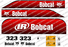 BOBCAT 323D Mini Escavatore decalcomania Set