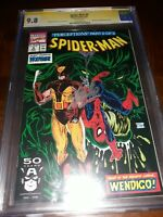 Stan Lee Signed SPIDER-MAN # 9 CGC SS 9.8 (NM/MT) 1991 WHT PGS - McFarlane Cover