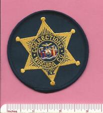 Niagara County New York State of NY Corrections DOC Sheriff Police Patch