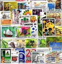 Singapour 400 timbres différents