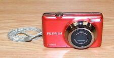 Genuine Fujifilm (JV300) 14 Mega Pixels Red Digital Camera With Wrist Strap