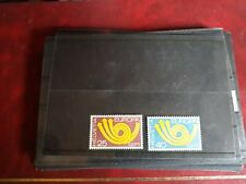 timbre suisse europa ** neuf n924/5  1973