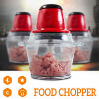 2L Electric Blender Food Chopper Meat Bowl Mixer Processor Vegetable Grinder