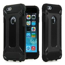 Luxury Armor Case for iPhone 6S 6 Slim Black Back Cover