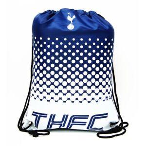 Tottenham Hotspur Football Club Official Gymbag Swimming Kit Bag PE Bag Navy