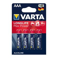 Varta Batterie LONGLIFE Max Power Micro AAA (LR03) 4703 Alkaline - 4er Blister