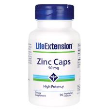 Life Extension Zinc Caps 50 mg 90 Veg Caps