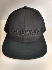Woodward Copper Extreme sports training black flat bill snapback hat