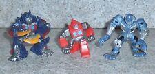Transformers ROBOT HEROES Optimus Transforme Protoform Optimus Lote De 3