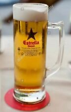Estrella Damm 50cl Imported Glass Tankard