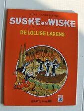 Speciale Suske en Wiske De lollige lakens Ariel 1982 !!