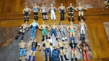 Mixed (Lot Of 20)  WWE Wrestling Figures Used Loose jakks, Mattel 7'