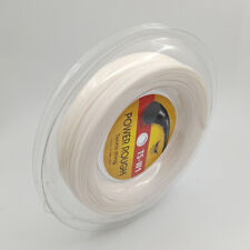 Embossed Surface High Power Control Polyester 200m Reel 17g Tennis String