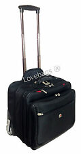 Roues business bagages à main vol pilote mallette médecin poulie sac de cabine