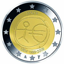 MALTA €2 Commemorative '10th anniversary of Economic and Monetary Union' Euro