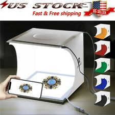 Portable LED Photo Studio Photography Light Room Box Lighting Tent Cube Kit