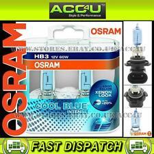 Osram Hb3 Cool Blue Intense 4200k 12v 60 W coche actualización Faros Faro Bombillas