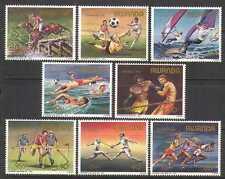 Rwanda 1984 Olympics/Horse/Football/Sport 8v set n22315