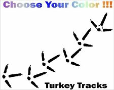 Turkey Track Car Window Decal Truck Window Sticker Hunting custom