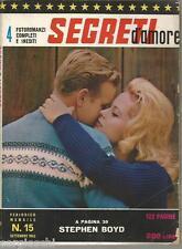 FOTOROMANZI SEGRETI D'AMORE # 15-SETTEMBRE 1963-STEPHEN BOYD-EDD BYRNES