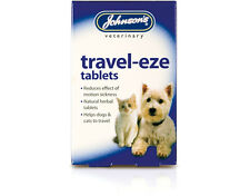 24 Johnsons Travel Eze Car Sickness tablets  for Cats & Dogs