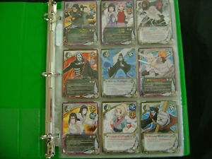 NARUTO CCG TCG Rares Only Cards Binder Collection Huge Vintage Cards Lot