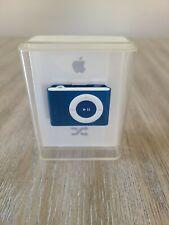 Apple iPod Shuffle - 1 GB Blue - 2nd Generation - NEW