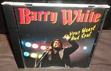 Barry White - Your Heart And Soul (CD, 1997)