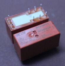 2 Stk. RT314F03 3V RELAIS SCHRACK 1 WECHSLER BISTABIL 250VAC / 16A 2pcs.