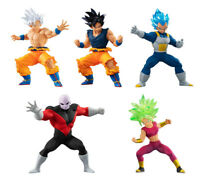 Bandai Dragon Ball Super HG Figure 6 Gashapon set 5 pcs Kefla Jiren Goku Vegeta