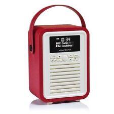View Quest Retro Mini DAB/FM Radio - Red