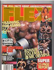 FLEX bodybuilding muscle magazine /Ronnie Coleman/Monica Brant poster 1-99