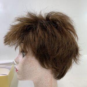 Eva Gabor BECOMING Medium Layered Wig GL6-30 Mahogany Red-Brown Modacrylic