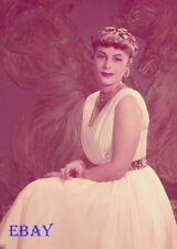 Roberta Peters 1953 Vintage 5  X  7  TRANSPARENCY