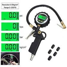 Digital Reifenfüllpistole Druckluft  Luftdruckprüfer Reifenfüller Manometer DE