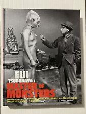 Eiji Tsuburaya Master Of Monsters Hard Cover Book Hc Rare! New Godzilla Ultraman