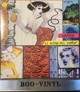 "Invidia - El Ritmo Del Diablo Rare 12"" German Zyx Italo Disco Vinyl Record Ex/Ex"