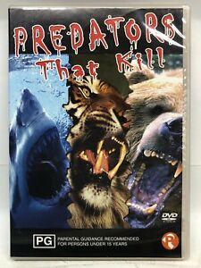 Predators that Kill - DVD - AusPost with Tracking