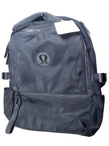 NWT LULULEMON Black Lightweight New Crew Backpack One Size