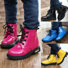 Baby Shoes Toddler Boys Girls Winter Spring Lace up Children Kids Boots