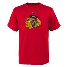 NHL Kinder T-Shirt Chicago Blackhawks Primary Logo Eishockey Youth Outerstuff