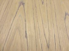 """Teak composite wood veneer sheet 48"""" x 96"""" with paper backer 1/40th"""" thick (EFW)"""