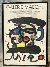 Joan Mirò - Poster mostra Galerie Maeght