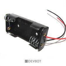 Support 2 Piles AAA LR3 avec fils. Coupleur, Batterie, Boitier, DIY, Arduino, Pi