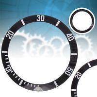 40mm Inserto ghiera nero bianco lunetta Bezel Per Submariner 11661 Strumento