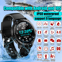 L9 Smart Watch IP68 PPG ECG Blood Oxygen Pressure Heart Rate For Android